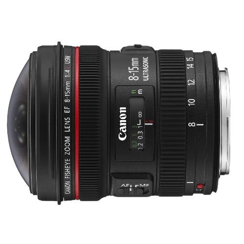 Canon EF 8-15 huren