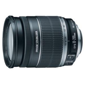 Canon EF-S 18-200 huren
