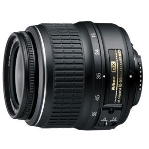 Nikon af-s dx 18-55 huren