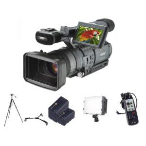 Video camera set 2 huren