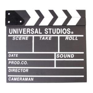 Filmklapper huren