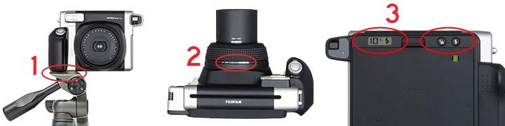 Fuji insatx wide instant camera huren 2