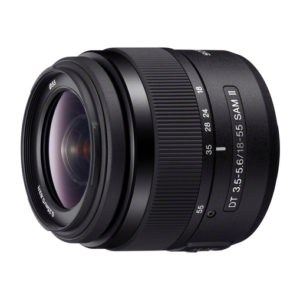 Sony 18-55mm f3.5-5.6 DT SAM II A Mount Lens huren