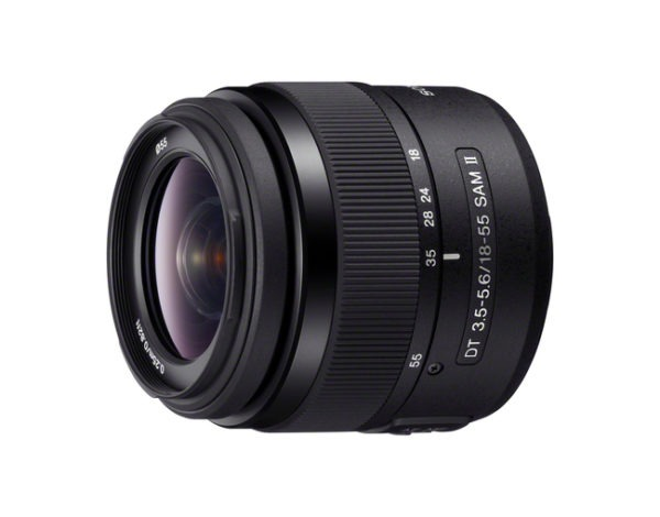 Sony 18-55mm f3.5-5.6 DT SAM II A Mount Lens huren
