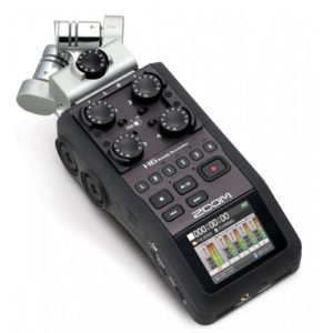 Zoom H6 audio recorder huren