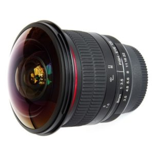 Meike 8mm f/3.5 Fisheye Lens for Canon huren