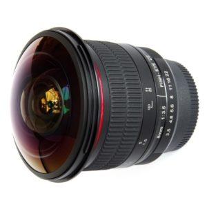 Meike 8mm f/3.5 Fisheye Lens for Canon huren