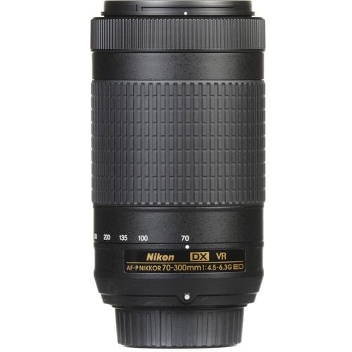 Nikkor 70-300mm f/4.5-6.3G ED VR AF-P DX huren