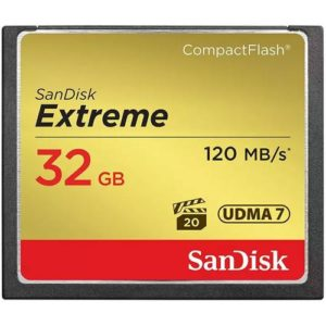 SanDisk Extreme 32GB 120MB/Sec Compact Flash Card huren